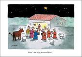 Telegraph Matt Wi-fi Password Christmas Greeting Card