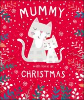 Mummy Cute Tiger Tail Christmas Greeting Card
