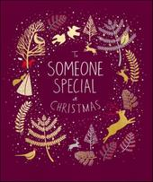 To Someone Special Peach & Prosecco Christmas Greeting Card