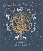 Daughter & Son-In-Law Emma Grant Christmas Greeting Card