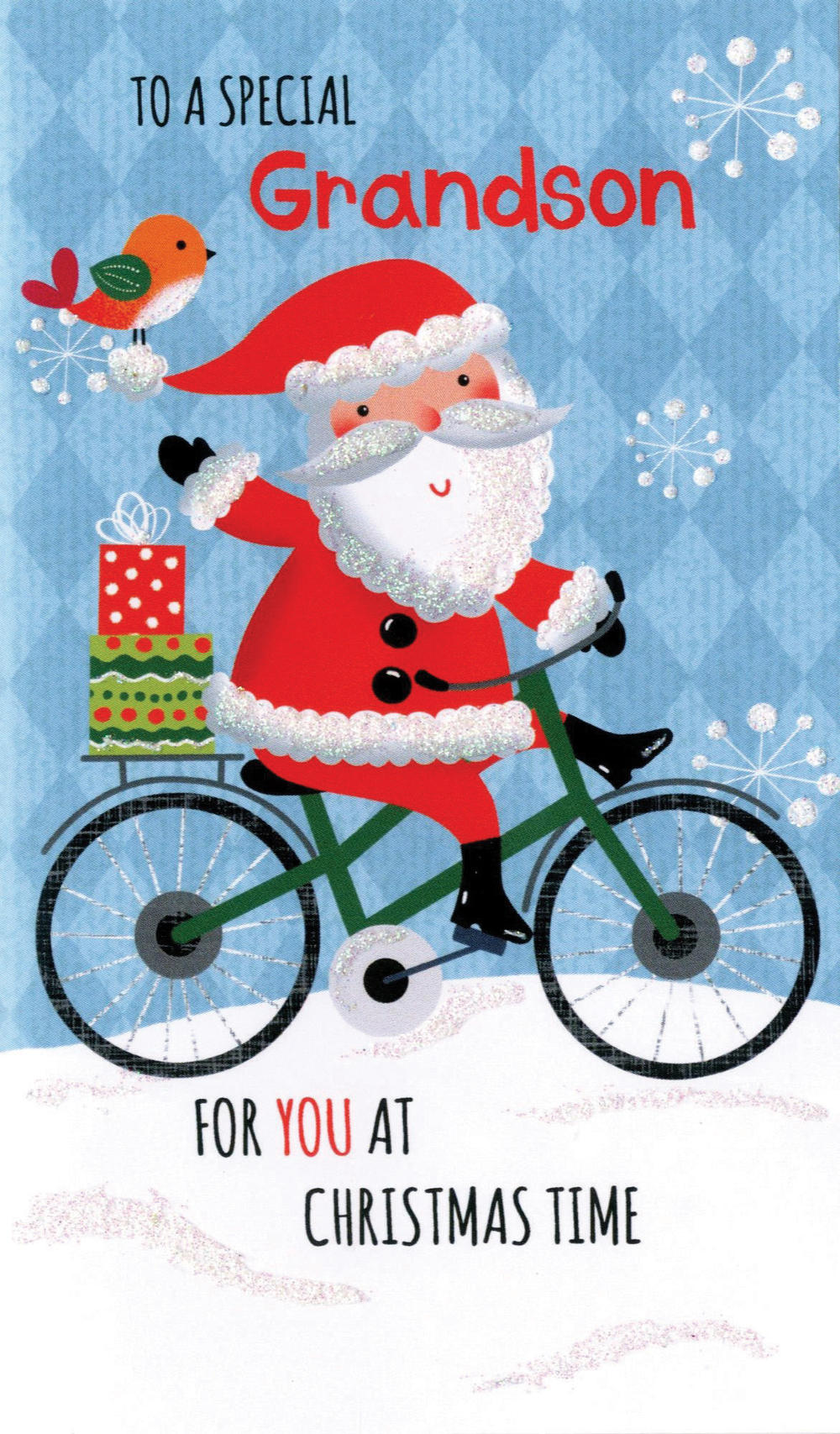 Grandson Moneyholder Christmas Gift Card