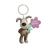 Mini Boofle Lovely Auntie Keyring Gift
