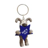 Mini Boofle Dad's Taxi Keyring Gift