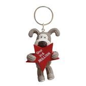Mini Boofle One In A Million Keyring Gift