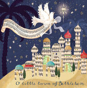 Pack of 5 Bethlehem Traditional Christmas Cards
