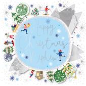 Nephew Happy Christmas Embellished Christmas Card