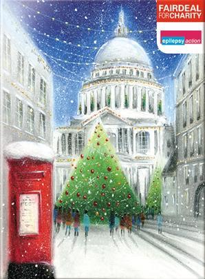 Box of 10 St Paul's Epilepsy Action Fairdeal Charity Christmas Cards
