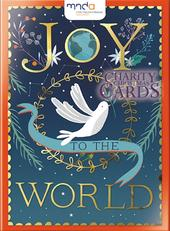 Box of 12 Joy To The World MNDA Charity Christmas Cards