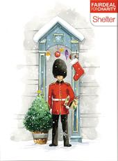 Box of 10 Festive Duty Shelter Fairdeal Charity Christmas Cards