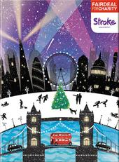 Box of 10 London Landmarks Stroke Association Fairdeal Charity Christmas Cards