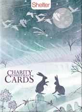 Box of 12 Fox & Hare Shelter Charity Christmas Cards