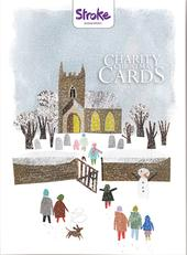 Box of 12 Joy Snowy Stroke Association Charity Christmas Cards