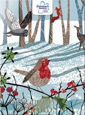 Box of 12 Woodland Alzheimer's Society Charity Christmas Cards
