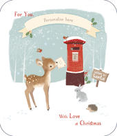 Grandmother (All Names) Christmas Greeting Card