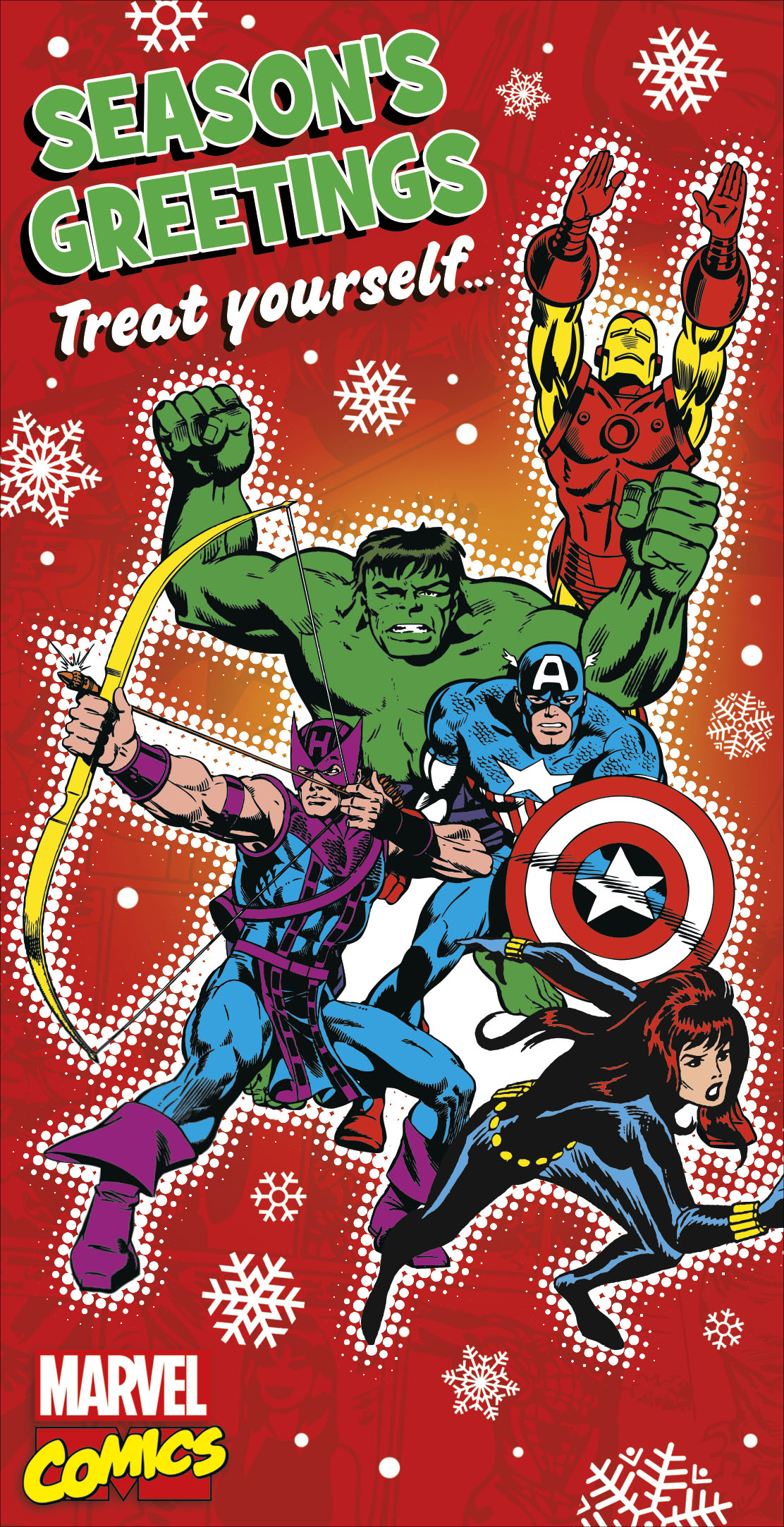 Marvel Comics Christmas Money Wallet Gift Card | Cards