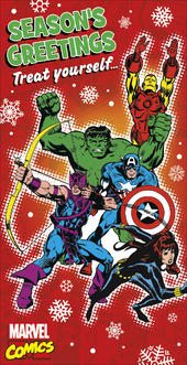 Marvel Comics Christmas Money Wallet Gift Card