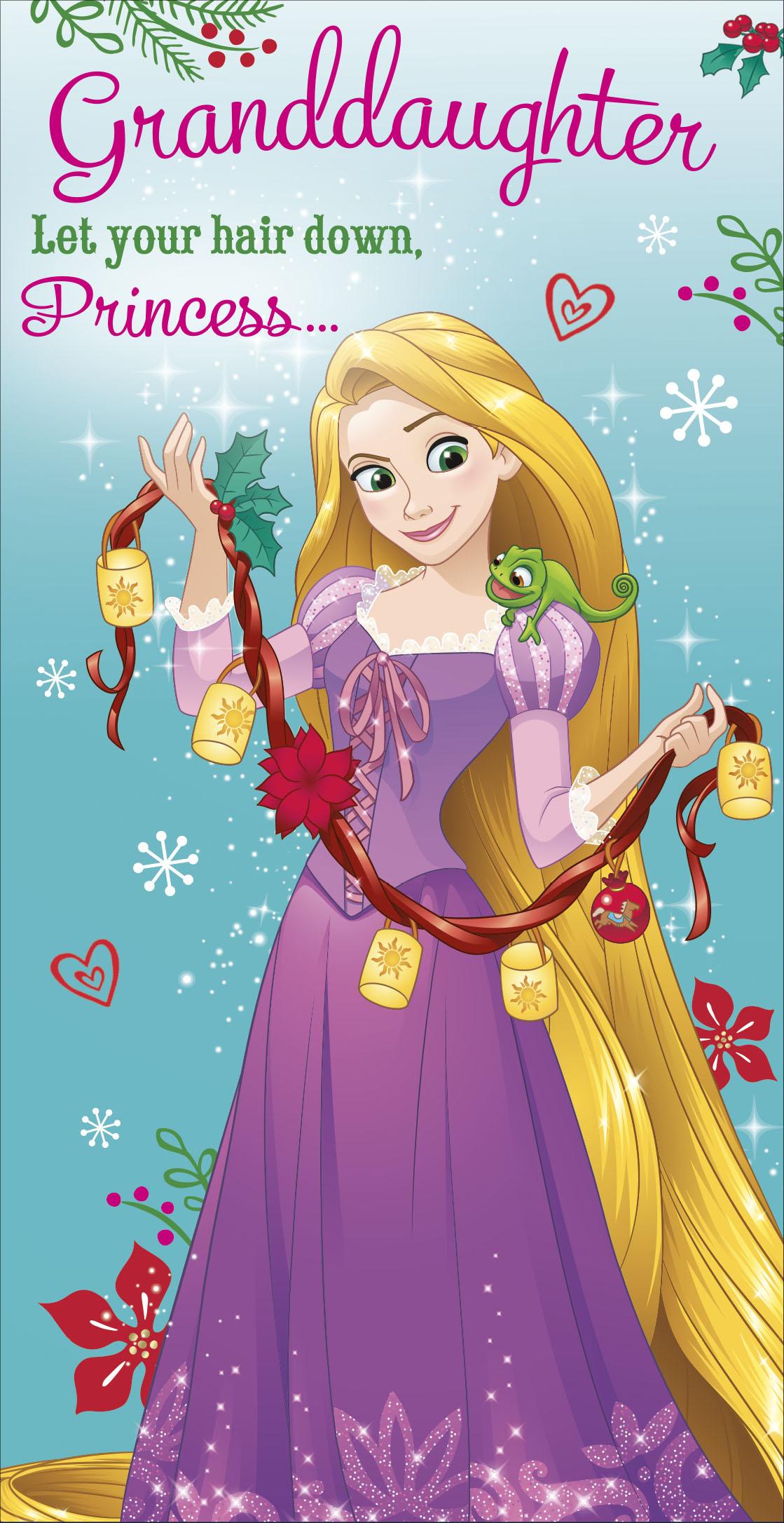 GRANDAUGHTER GIRL CHRISTMAS XMAS MONEY GIFT PRESENT WALLET GREETING CARD