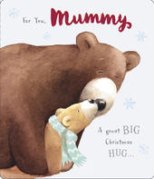 For You Mummy Cute Albert Bear Christmas Card