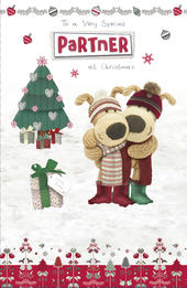 Boofle Special Partner Christmas Greeting Card