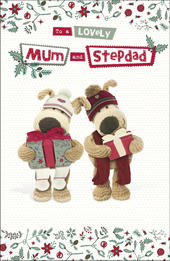 Boofle Mum & Stepdad Christmas Greeting Card
