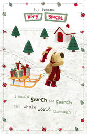 Boofle Someone Special Christmas Greeting Card