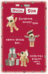 Boofle Special Son Christmas Greeting Card