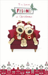 Boofle Special Friend Christmas Greeting Card