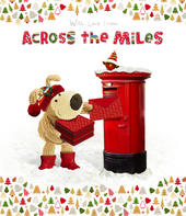 Boofle Across The Miles Christmas Greeting Card