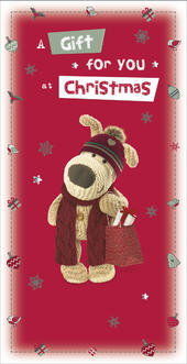 Boofle Money Wallet Christmas Gift Card