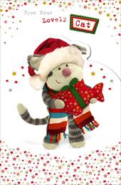 Boofle From Your Cat Christmas Greeting Card