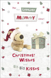 Boofle Loveliest Mummy Christmas Greeting Card