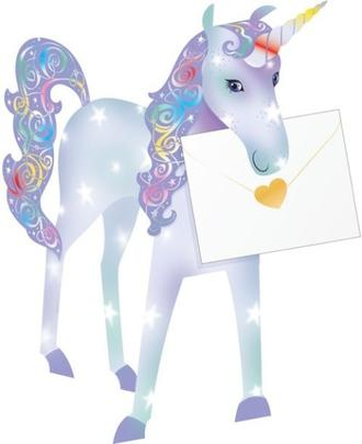 Unicorn 3D Special Delivery Animal Greeting Card