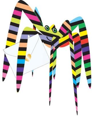 Spider 3D Special Delivery Animal Greeting Card