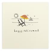 Happy Retirement Pencil Shavings Greetings Card