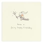 Fairy Happy Birthday Pencil Shavings Birthday Card