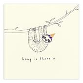 Hang In There Pencil Shavings Greetings Card