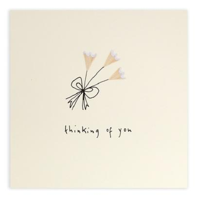 Thinking Of You Pencil Shavings Greetings Card
