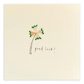 Good Luck Pencil Shavings Greetings Card