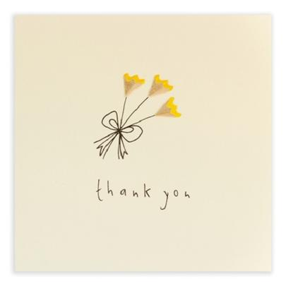 Thank You Pencil Shavings Greetings Card
