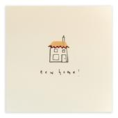 New Home Pencil Shavings Greetings Card