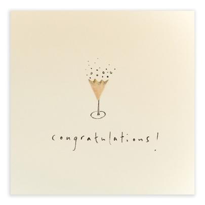 Congratulations Pencil Shavings Greetings Card