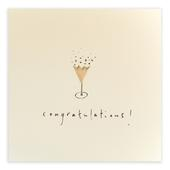 Congratulations Pencil Shavings Greetings Card