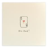 Ace Dad Pencil Shavings Father's Day Greeting Card