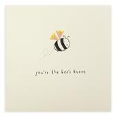 You're The Bee's Knees Pencil Shavings Greeting Card