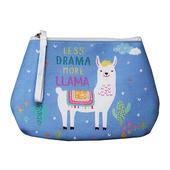 Llama Bag Less Drama More Llama Multi Purpose Pouch