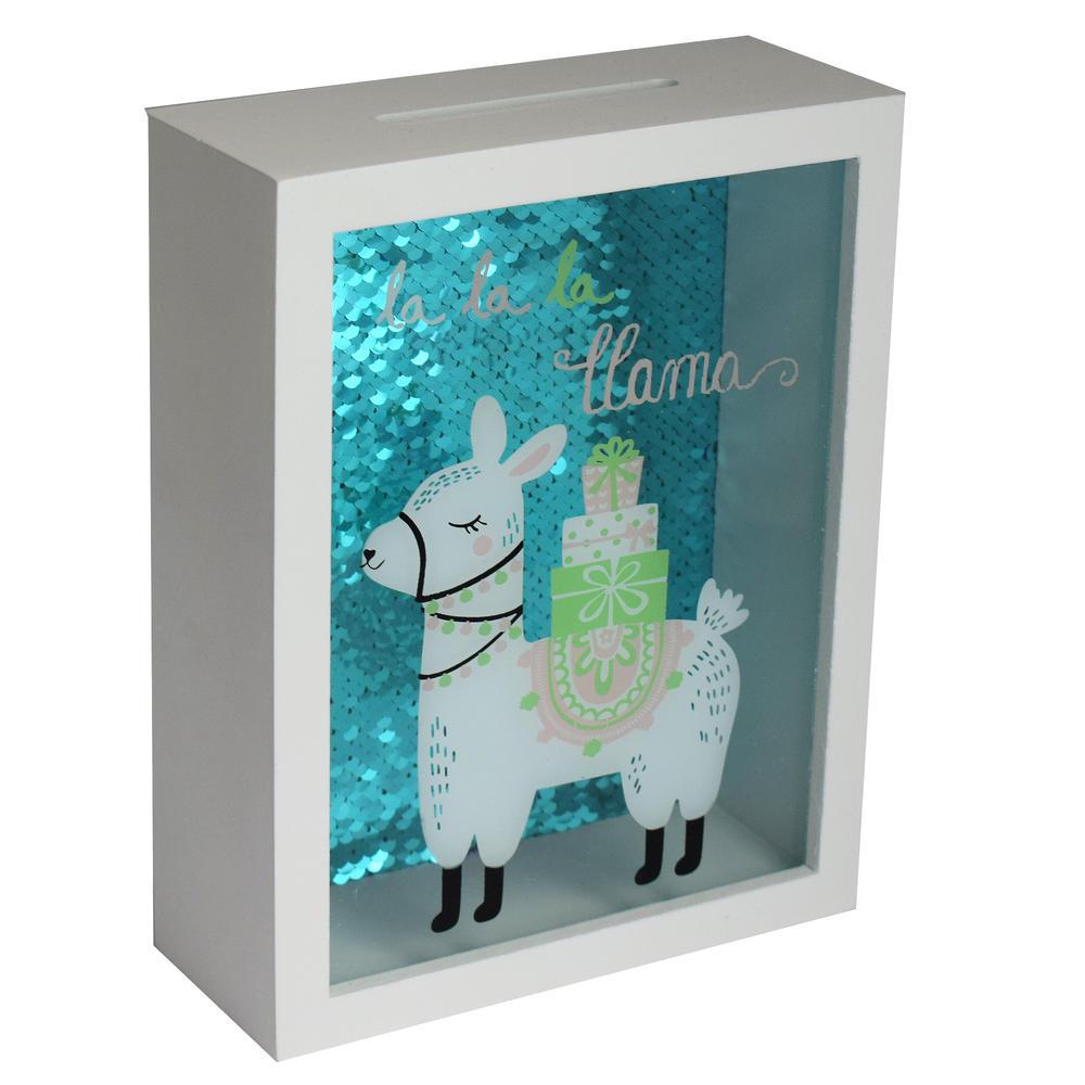 La La La Llama Wooden Money Box