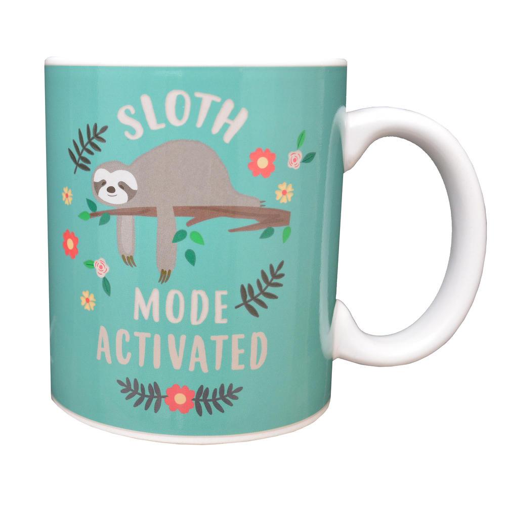 Sloth Mode Heat Changing Ceramic Mug In Gift Box