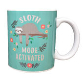 Sloth Mode Heat Changing Ceramic Mug In Gift Box