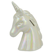 Unicorn Ceramic Money Bank Traditional Money Box With Stopper