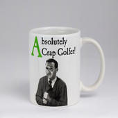 Emotional Rescue Absolutely Crap Golfer Mug In Gift Box